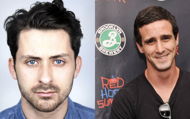Andy Bean y James Ransone. Foto de internet