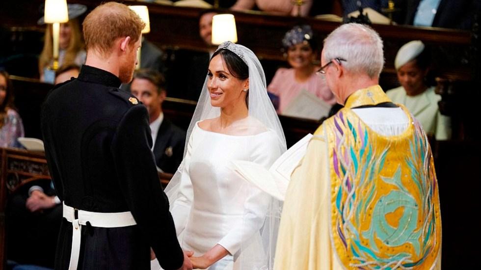 Meghan y Harry son declarados marido y mujer - Foto de Reuters
