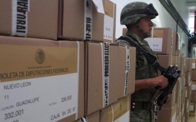 Iniciará INE este viernes la distribución de boletas electorales - Foto de Reporte Índigo