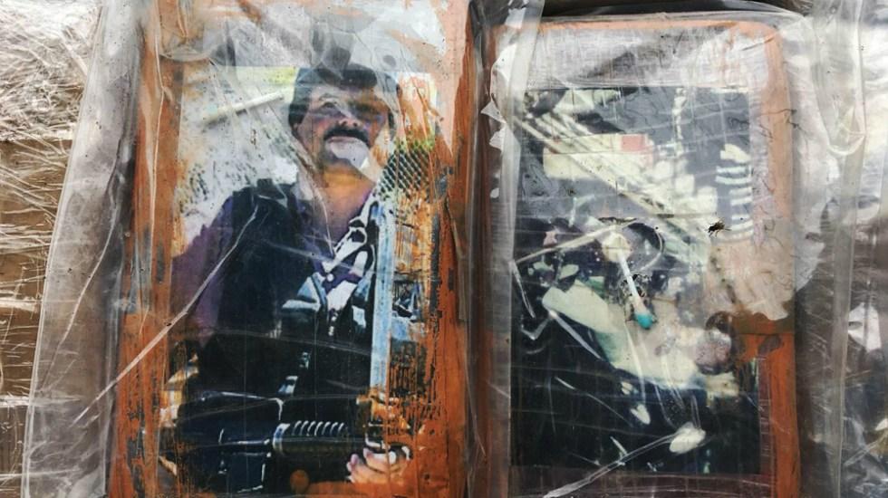 Decomisan en Perú una tonelada de cocaína con fotos de 'El Chapo' y Escobar - Foto de Ministerio del Interior de Perú