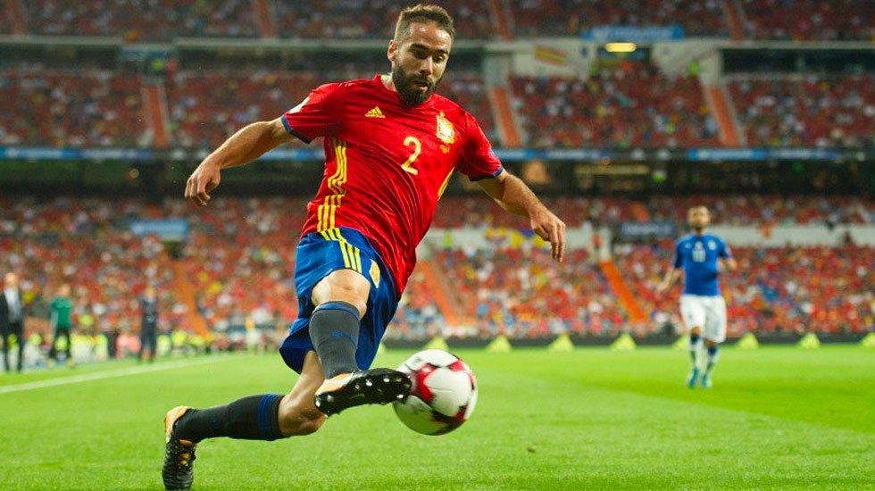Dani Carvajal podría recuperarse a tiempo para Rusia 2018