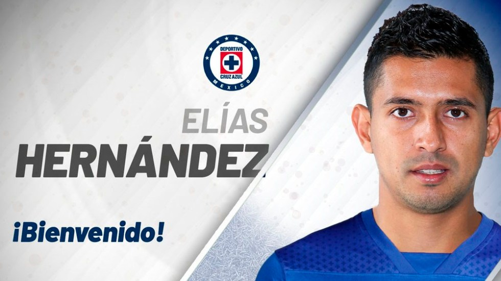Cruz Azul firma a Elías Hernández para el Apertura 2018