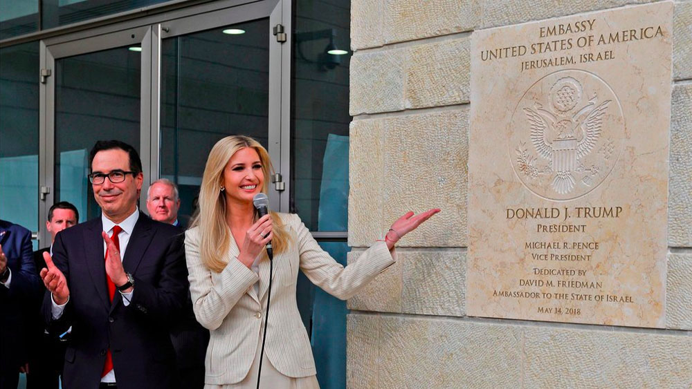 Inauguran oficialmente embajada de EE.UU. en Jerusalén - Foto de internet