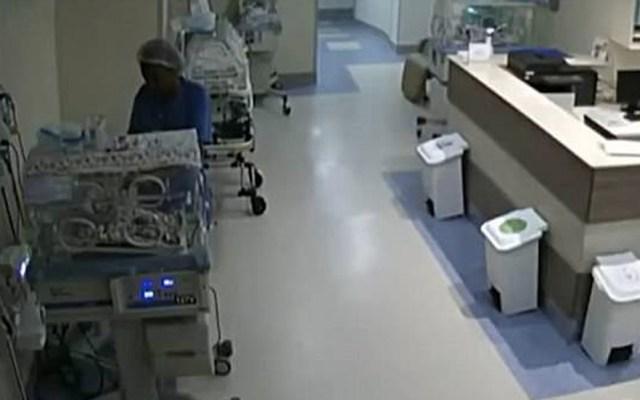 #Video Detienen a enfermera en Brasil por intentar asesinar a bebés - Captura de Pantalla