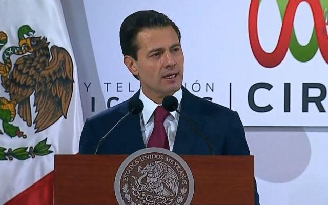 Destruir los avances es muy sencillo: Enrique Peña Nieto - Foto de Presidencia de la República