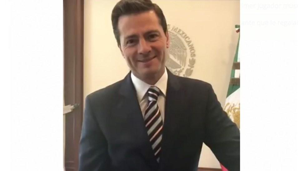 Luisito Rey es el personaje más odiado de México: Peña Nieto