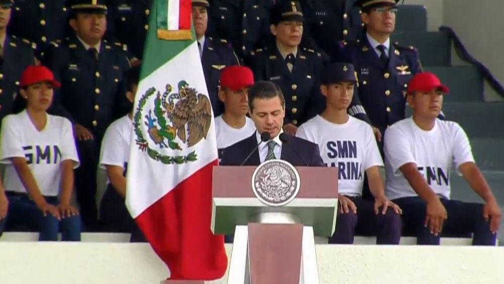 La soberanía se defiende con la fuerza de la razón: EPN - Foto de @PresidenciaMX