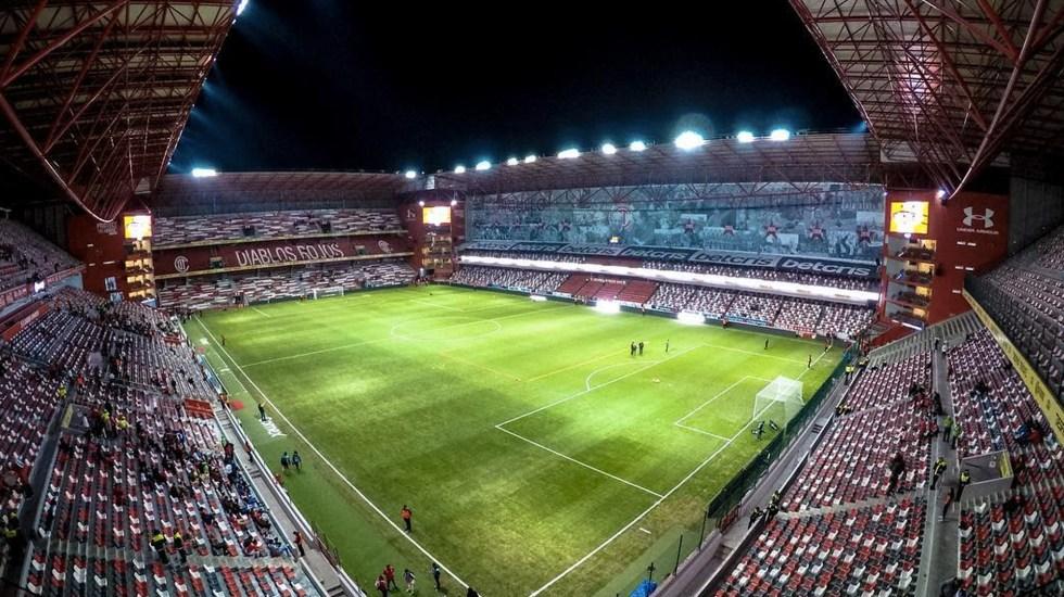 Foto de Twitter Estadio Nemesio Diez
