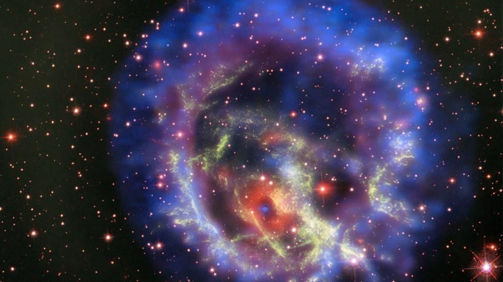 NASA halla estrella de neutrones afuera de la Vía Láctea - Foto de NASA