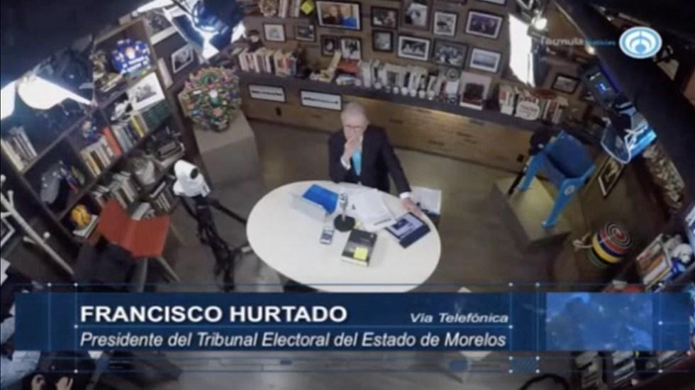 Acusan a Graco Ramírez de recortar presupuesto a Tribunal Electoral - Captura de Pantalla