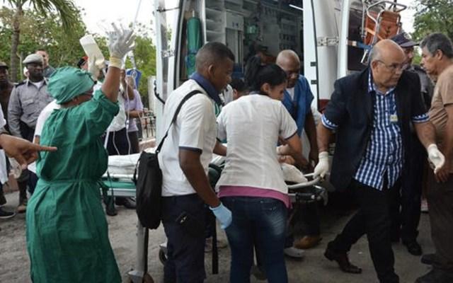 Muere sobreviviente de accidente aéreo en La Habana - Foto de @Granma_Digital
