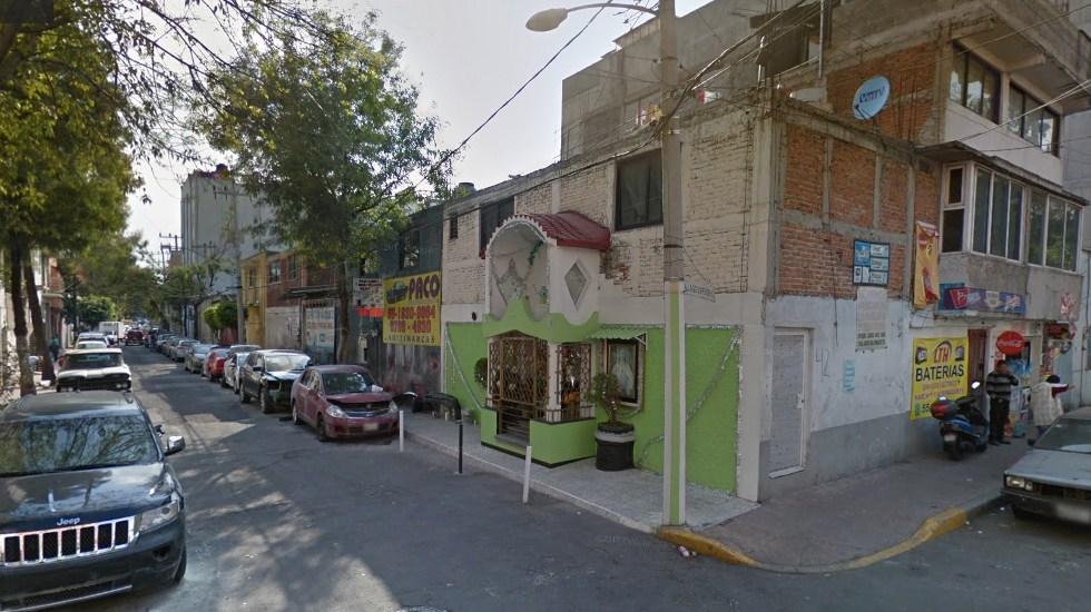 Captura de Google Maps