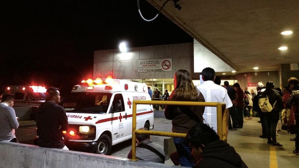 Se intoxican 72 en comedor de empresa de Tlalnepantla