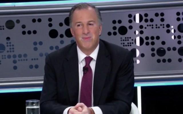José Antonio Meade en Tercer Grado - Captura de pantalla