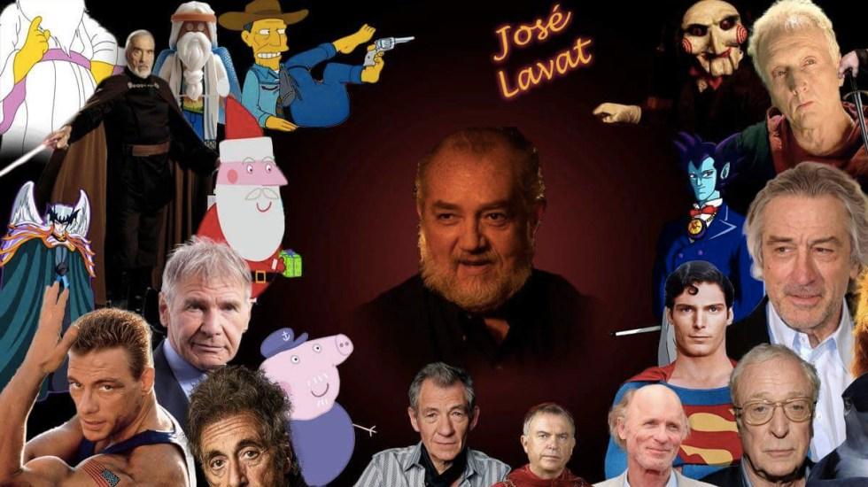 Muere el actor de doblaje José Lavat - Foto de Internet