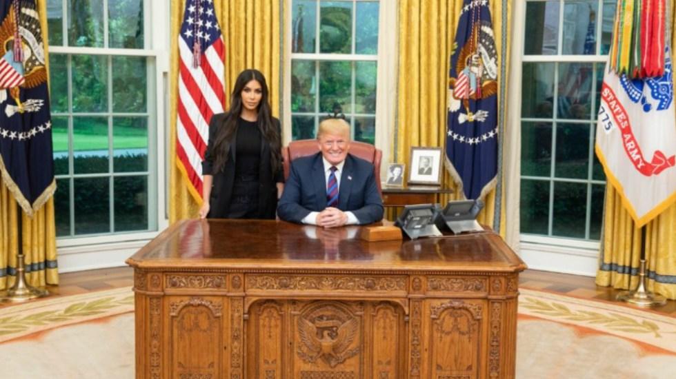 Se reúnen Kardashian y Trump para hablar sobre reforma al sistema de prisión - Foto de @realDonaldTrump