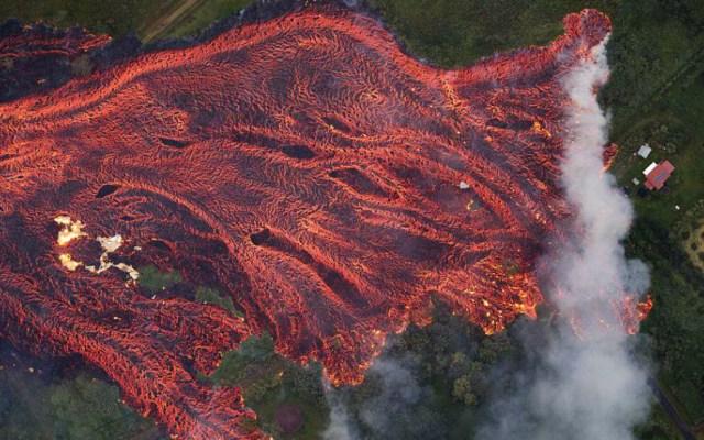 Las imágenes de la devastación por erupción del volcán Kilauea en Hawaii - Foto de EPA