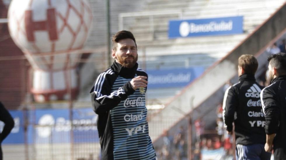 Messi rechaza que Argentina sea candidata a ganar el Mundial - Foto de @Argentina