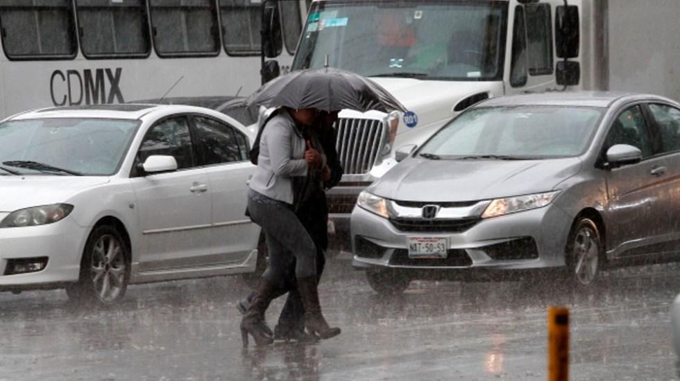 Activan Alerta Amarilla por lluvia en dos delegaciones - Foto de Notimex