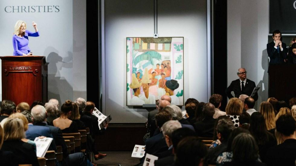 Óleo de Diego Rivera es la obra latinoamericana más cara de la historia - Foto de EFE