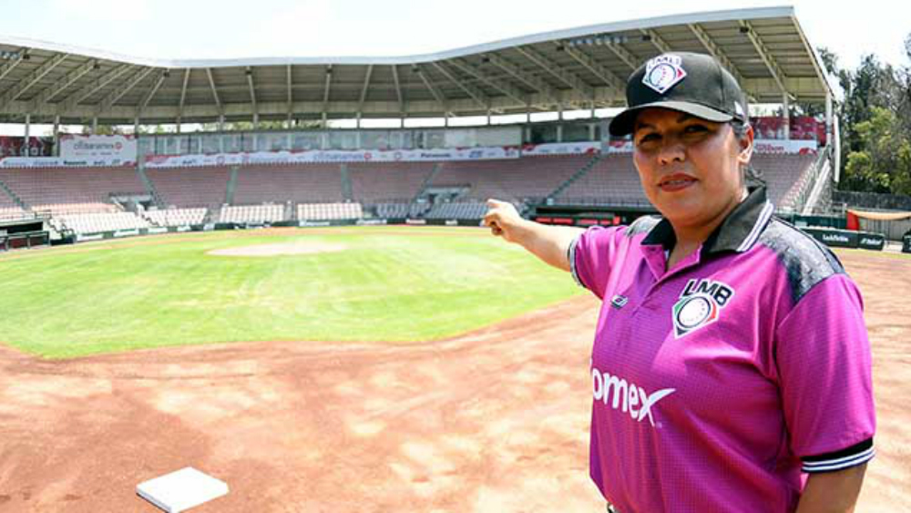 Hoy debuta Luz Alicia Gordoa como umpire de la LMB
