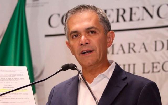 Mancera asiste a audiencia en el TEPJF por su candidatura al Senado - Foto de @ManceraMiguelMX