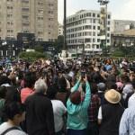 Al menos dos movilizaciones en laCiudad de México - Foto de Notimex