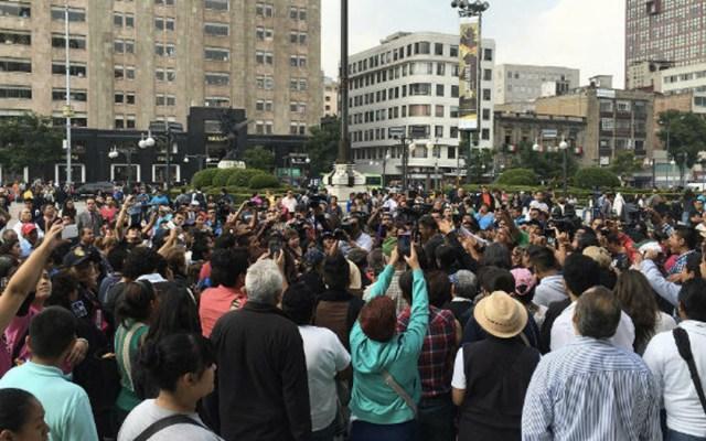 Prevén cuatro movilizaciones en la Ciudad de México - Foto de Notimex