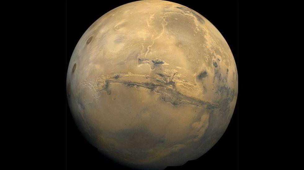 Así se ve el Polo Sur de Marte - Foto de NASA
