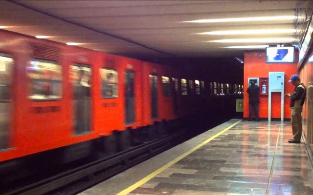 Falla mecánica en tren provoca retrasos en la Línea 3 del Metro - Foto de Archivo