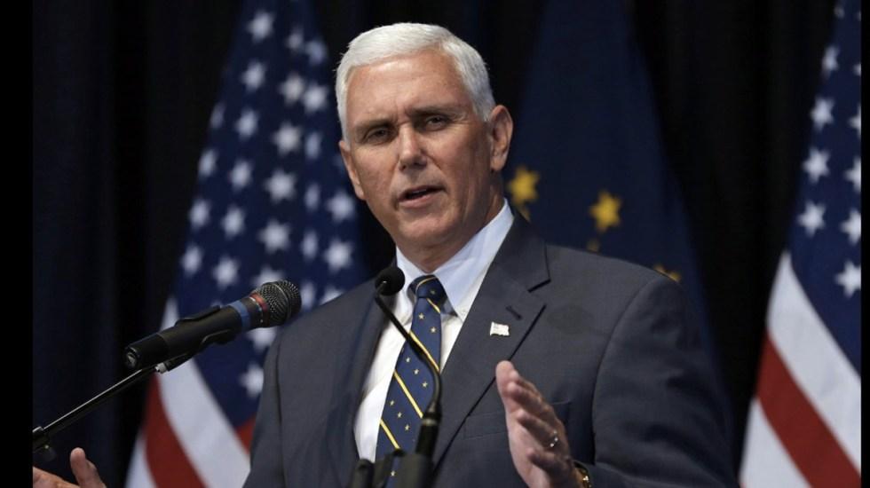"""""""La elección de Venezuela fue una farsa"""": vicepresidente de EE.UU. - pence señaló que detienen a varios terroristas al día en la frontera con méxico"""