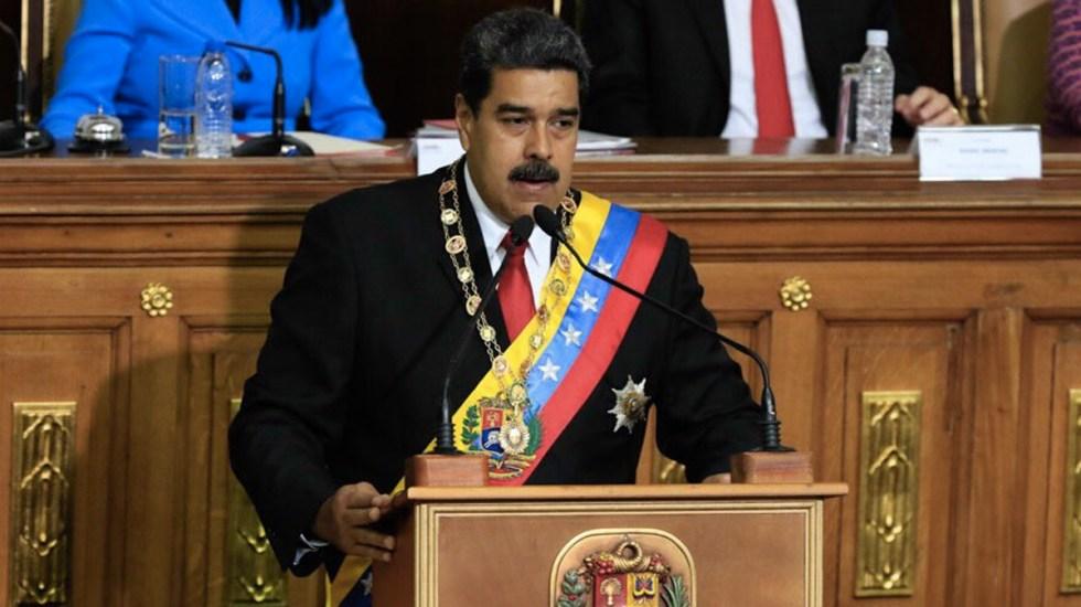 Maduro anuncia fiesta nacional cuando Venezuela salga de la OEA - Foto de Banco del Tesoro