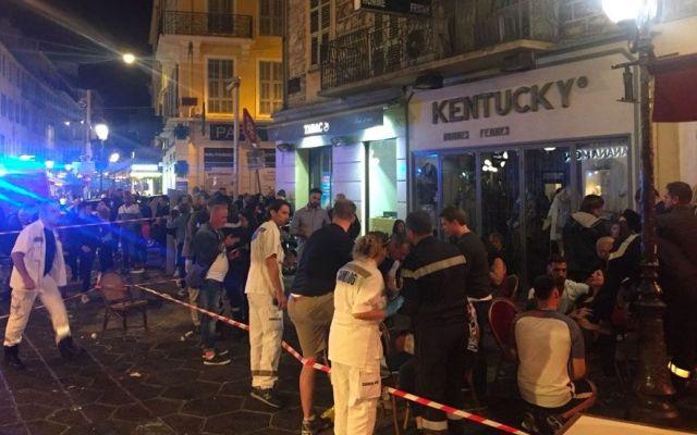 Estampida en Francia deja 12 heridos - Foto de AFP