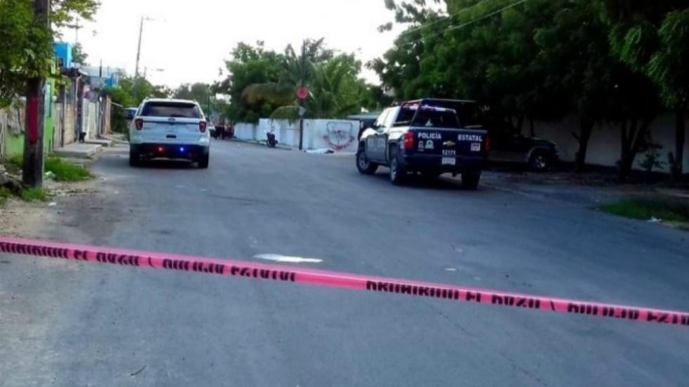 Balacera en primaria de Cancún dejan una muerta y un herido - Foto de Quadratín