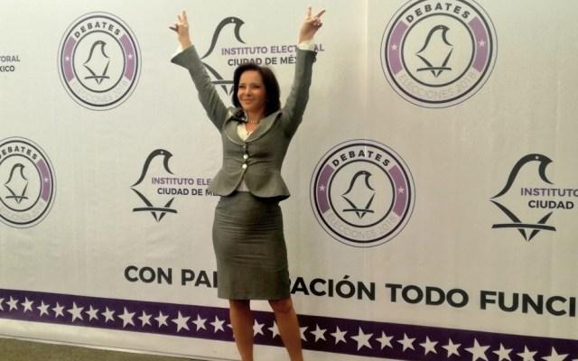 IECM rechaza solicitud para sustituir a Carpinteyro - Foto de @PuriCarpinteyro