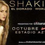 Shakira abre nueva fecha en el Estadio Azteca