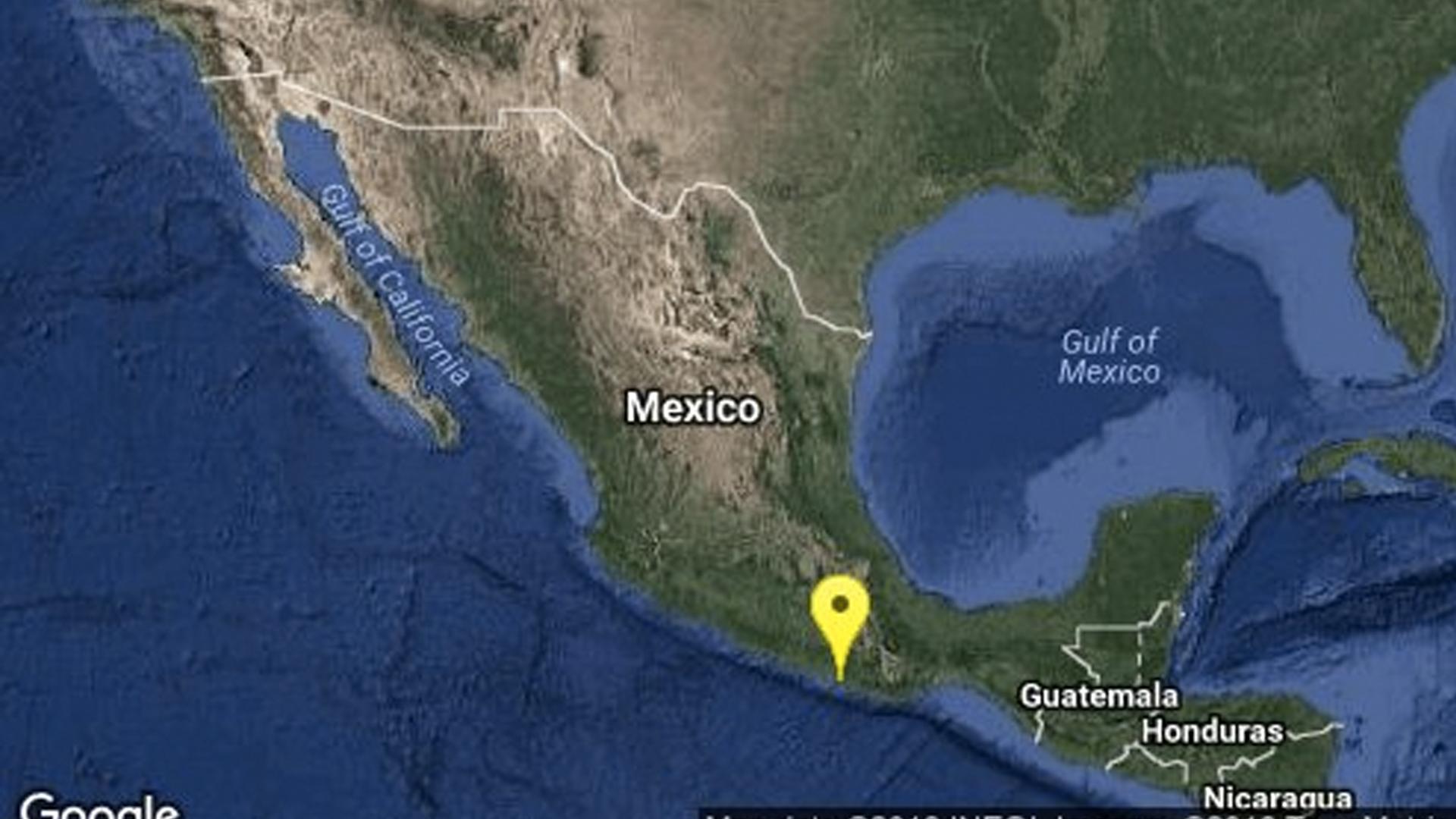 Se registra sismo de 5.2 grados en la Ciudad de México