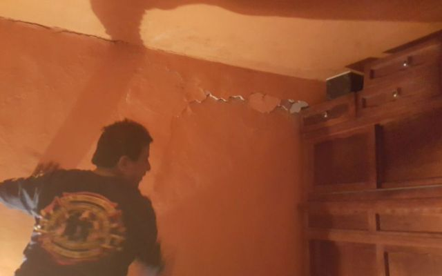 Sismo magnitud 3.6 deja daños menores en Zitácuaro - Foto de @Cambiomichoacan