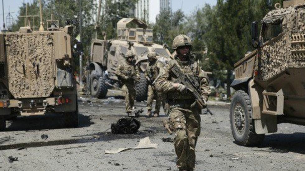 Mueren dos soldados en atentado al sur de Afganistán - Foto de Internet