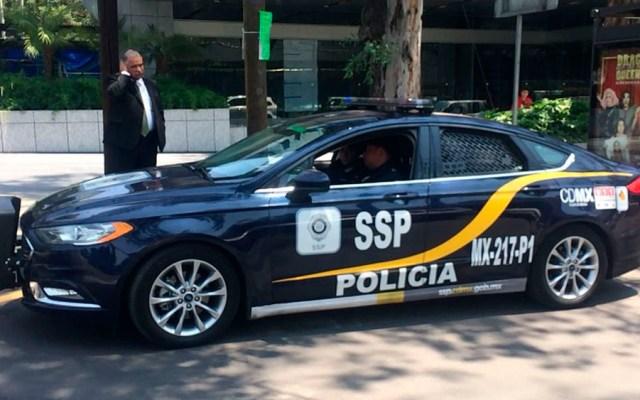 Detienen a cinco colombianos tras robar casa en Polanco - Foto de Jonathan Del Moral