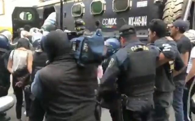Detienen a 18 en operativo contra el narcomenudeo en Tepito - Captura de pantalla