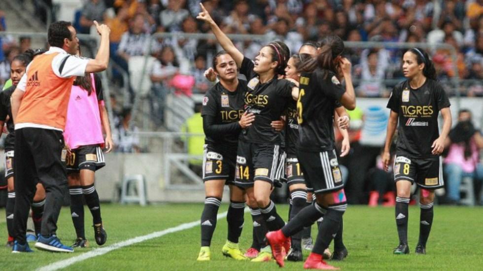 Tigres se corona en el Clausura 2018 de la Liga MX Femenil - Foto de @torreon