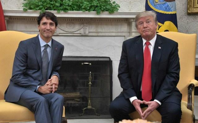 Trudeau señala que EE.UU. condicionó su reunión con Trump - Foto de AFP