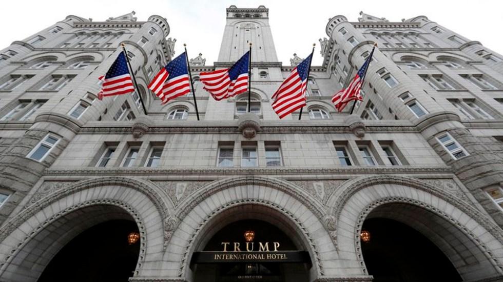 Hotel de Trump en Washington gana 40 mdd durante su primer año - Foto de AP