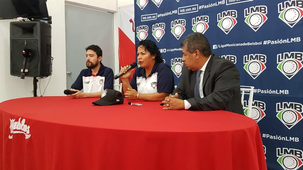 Luz Alicia Gordoa, primera mujer umpire en la LMB