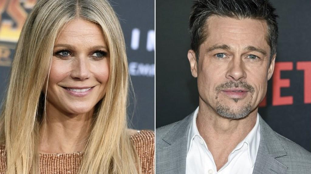 Brad Pitt amenazó a Harvey Weinstein por acoso a Gwyneth Paltrow - Foto de AP