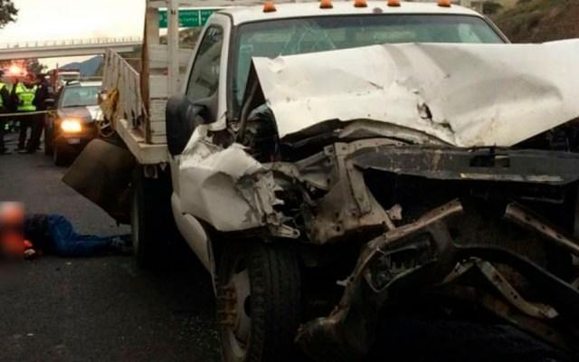 Accidente deja 10 heridos en la Autopista México-Querétaro - Foto Especial