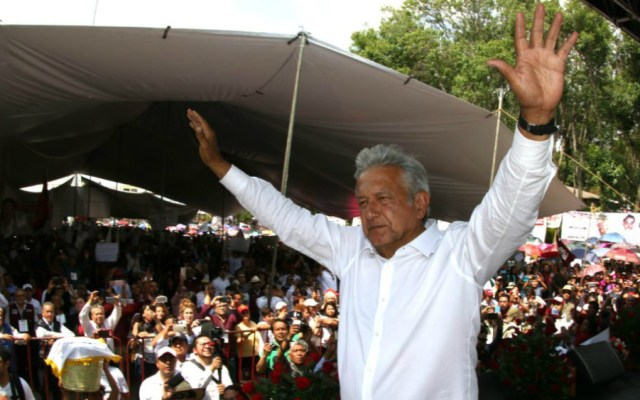 """""""No todo es discrepancia con empresarios"""": AMLO - Foto de lopezobrador.org"""