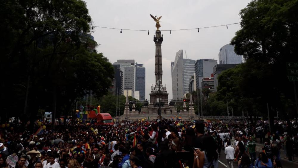 Saldo blanco tras festejos de futbol y desfile de diversidad sexual en CDMX - Foto de @LARSAVISIONTV