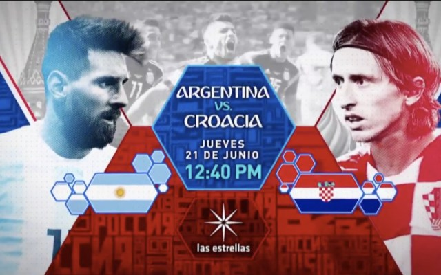 ¿Dónde puedes ver el Argentina vs Croacia? - Foto de Televisa Deportes